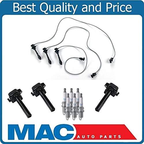 - Mac Auto Parts 158313 New Spark Plug Wires Ignition Coils Boots & Spark Plugs For Lexus ES300 96-01