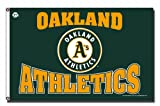 MLB Oakland Athletics 3-Foot by 5-Foot Banner Flag