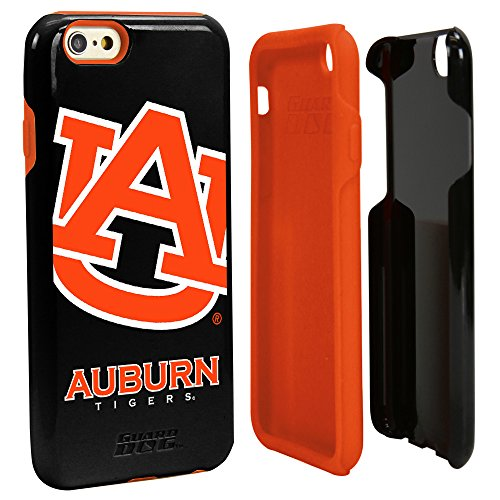Guard Dog NCAA Auburn Tigers Hybrid iPhone 6 Case, Black, One Size