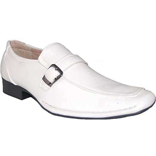 SHOE ARTISTS NICE White Leather Lined Uppers