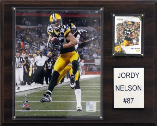 Green Bay Packers Plaque - NFL Jordy Nelson Green Bay Packers Player Plaque