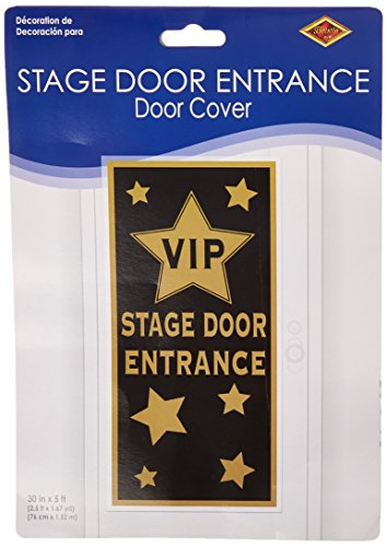 VIP Stage Door Entrance Door Cover Party Accessory (1 count) -