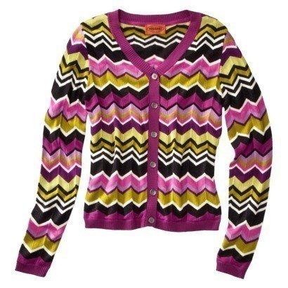 (Missoni for Target Women's Passione Cardigan Sweater - Purple Medium)