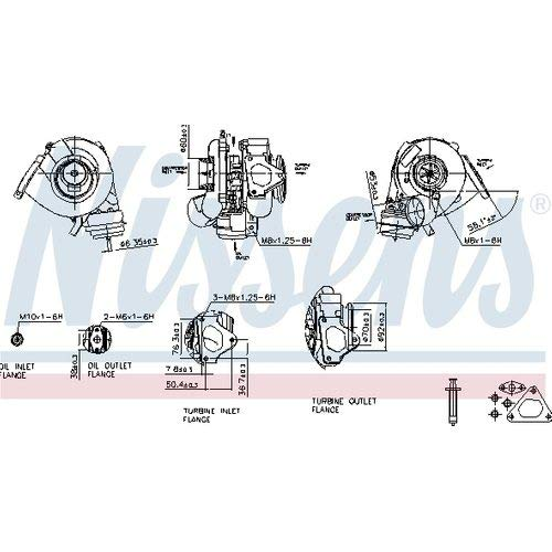 Nissens 93109 Turbo Charger: