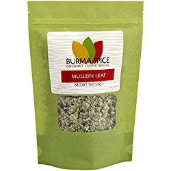 Dried Mullein Leaf | Herbal Tea | 100% Natural | Kosher Certified | (1 oz)
