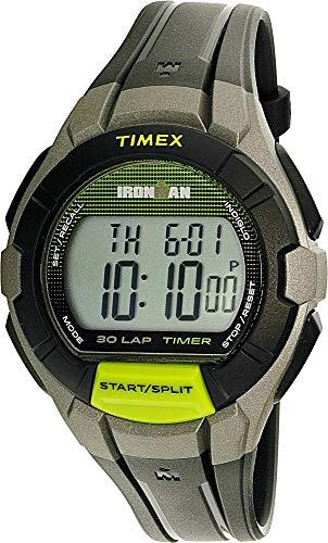 Timex Ironman Grey Digital Dial Plastic Strap Men's Watch TW5K95800