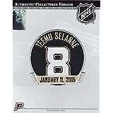 2014-15 Anaheim Ducks Retirement of Teemu Selanne #8 Jersey Patch
