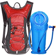 Unigear Hydration Pack Backpack with 70 oz 2L Water Bladder for Running, Hiking, Cycling, Climbing, Camping, B