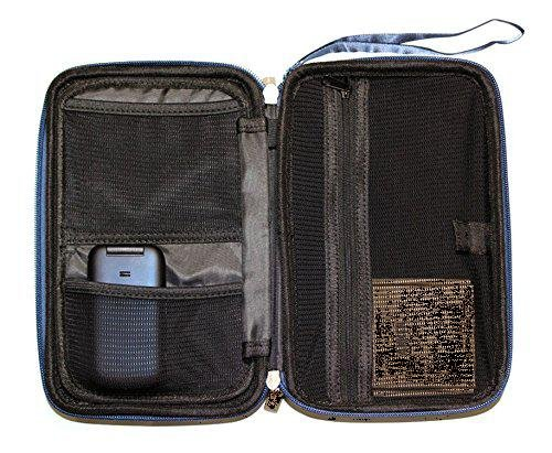 """Caseling Universal Electronics/Accessories Hard Travel Organizer Carrying Case Bag, 9.8"""" x 5.6""""x 2.8"""" - Black by caseling (Image #5)"""