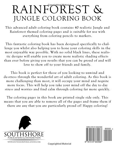 Counting Number worksheets math addition coloring worksheets : Amazon.com: Rainforest & Jungle Coloring Book: A Stress Management ...