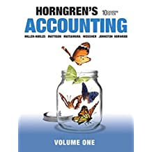 Horngren's Accounting, Volume 1, Tenth Canadian Edition Plus MyLab Accounting with Pearson eText -- Access Card Package (10th Edition)