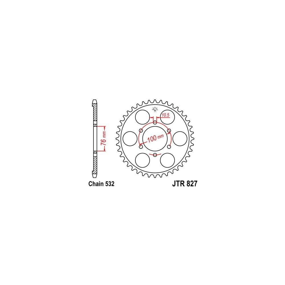 420 120 mit Clipschlo/ß D.I.D 1249120D verst/ärkte Kette NZ3 G/&B