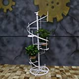 European flower/revolving staircase multi-storey flower racks/iron art bonsai frame/floor racks-A diameter120cm(47inch)