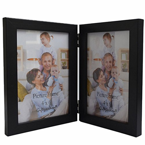 Giftgarden Friends Gift Picture Frame 4x6 for Double Photo 4 by 6 Inch PVC Lens (Friends Picture Frame Vertical compare prices)