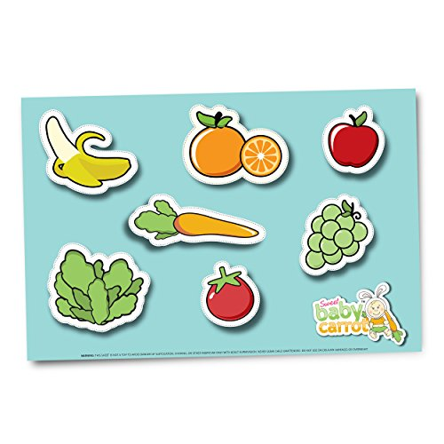 Sweet Baby Carrot Disposable Placemats For Kids Of All Ages