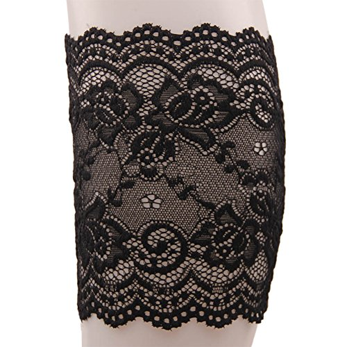 Women's Fashion Elastic Lace Sock Sleeves Delicate Boot Cuff