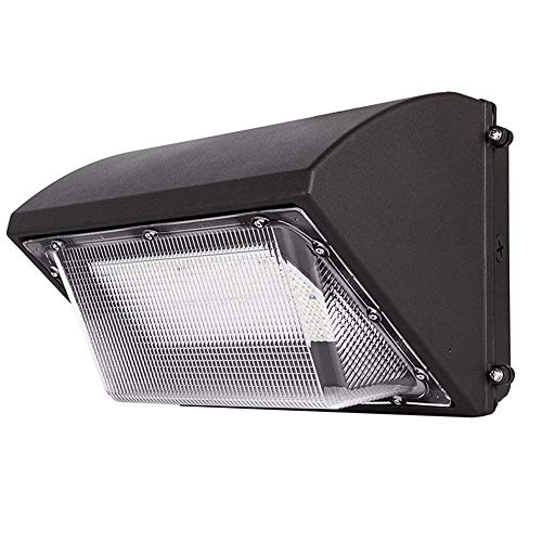 Dephen 120W LED Wall Pack Fixture, 500W HPS/HID Replacement, 5000K, 17500Lumens, Commercial and Industrial Outdoor Lighting, IP65 Waterproof (UL-Listed)