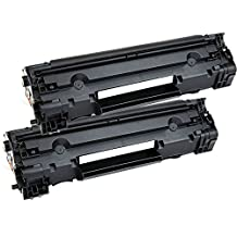 2 Inkfirst® Toner Cartridges CF283A (83A) Compatible Remanufactured for HP CF283A Black LaserJet Pro MFP M127fn MFP M127fw MFP M125a MFP M125rnw MFP M125nw M201dw M201n MFP M225dn MFP M225dw