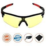 J+S Active PLUS Cycling Outdoor Sports Athlete's Sunglasses, 100% UV protection