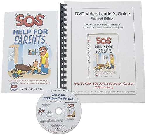 Video KIT SOS Help For Parents includes DVD video, Leader s Guide, Parent Handouts, SOS book, and additional materials by Lynn Clark by SOS Programs and Parents Press