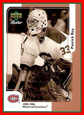 1999-00 McDonald's Upper Deck #MCD15R Patrick Roy Retro Variation MONTREAL CANADIENS