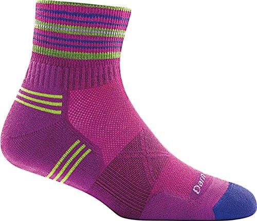 Darn Tough Vertex 1/4 Ultra-Light Cushion Sock - Women's Clover Medium