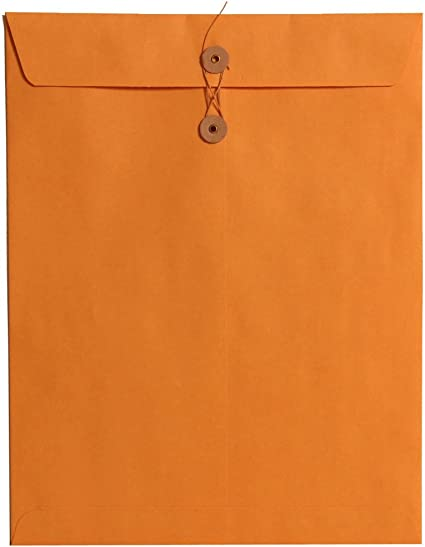 Quality String /& Washer Strong Bottom Tie Envelopes Manilla All Sizes Brown