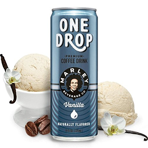 One Drop Premium Coffee Drinks (Vanilla ), 11fl.oz. (Pack of 12) by Marley Beverage Company
