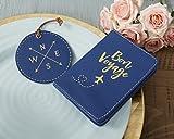 Kate Aspen, Bon Voyage Getaway Gift Set, Passport Cover and Luggage Tag