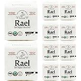 Rael Bundle Package - Rael Certified Organic Cotton Pantyliners 10 Pack / 200 Total (Regular Liners)