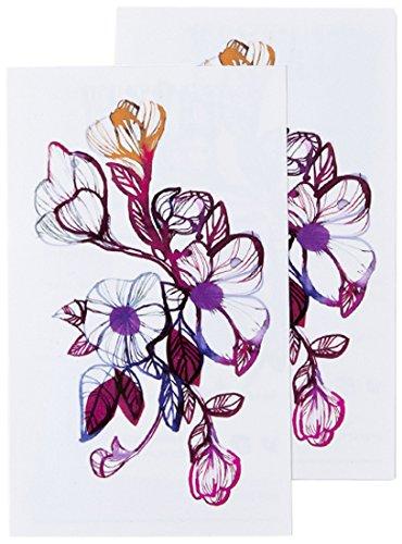 Tattly Temporary Tattoos Floral Flourish