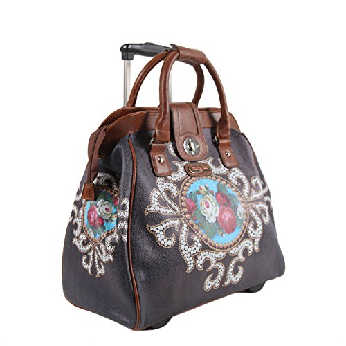 Nicole Lee Cheri Rolling Business Tote, Rose Pearl, One Size by Nicole Lee (Image #5)