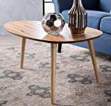 Cofee Table - Natural Egg Shaped Wood - Perfect Centerpiece to Enhance Your Living Room