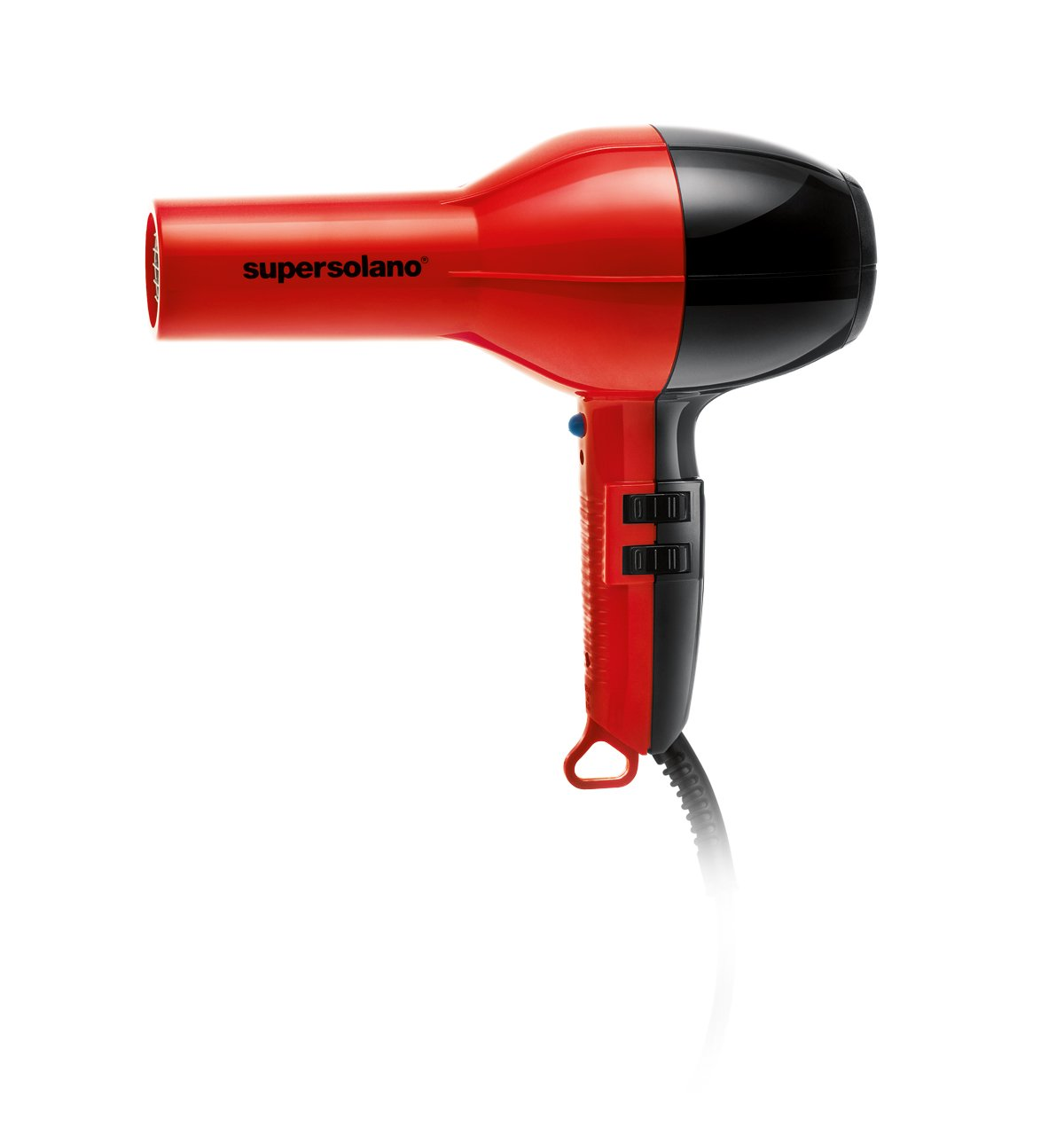 Solano Supersolano Professional Hair Dryer, Red/Black