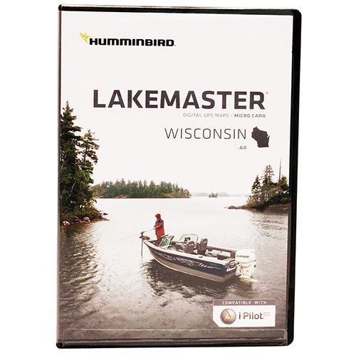 Humminbird 600025-4 Electronic Charts Wisconsin