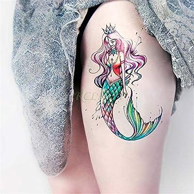 5 Unids-Etiqueta Engomada del Tatuaje Temporal a Prueba de Agua ...