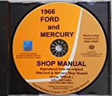 img - for 1966 FORD FACTORY REPAIR SHOP & SERVICE MANUAL CD Ford Custom, Ford Custom 500, Galaxie 500, Galaxie 500 XL, Galaxie 500 7.0 Litre, Galaxie 500 Ltd, Ranch Wagon, Country Sedan and Country Squire, plus the Falcon, Fairlane, Ranchero book / textbook / text book