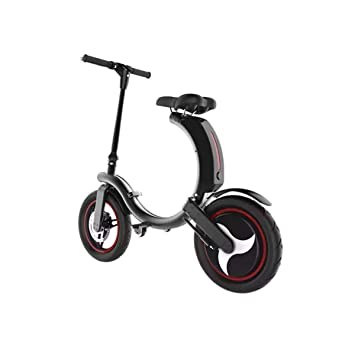 Amazon.com: SEADOSHOPPING - Patinete eléctrico plegable de ...