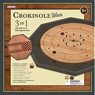 Crokinole Deluxe 3 in 1