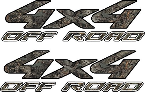 avgrafx 4x4 Truck Offroad Decal Oak Camo Cast Vinyl Laminated 15.5x4.75 Inches 4x4 Off Road Decals