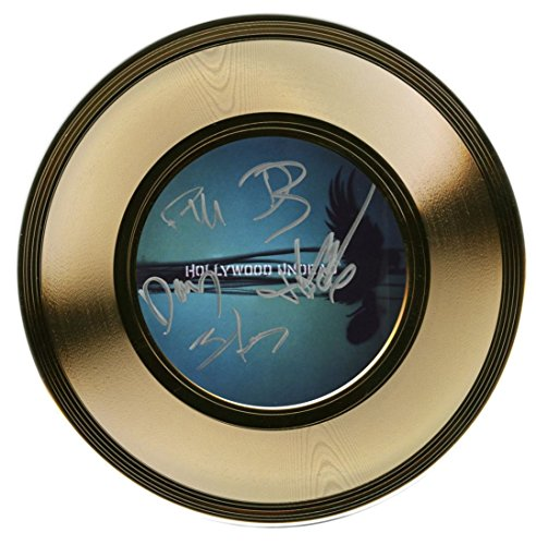 Hollywood Undead - American Rock Band - Autographed 7 Inch Gold Record by JG Autographs, Inc.