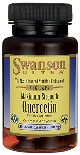 Swanson Quercetin Maximum Strength 800 mg 30 Veg Caps