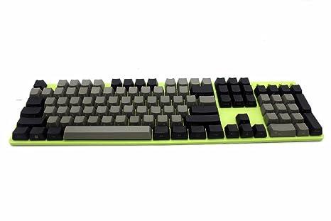 NPKC - Tapas para Teclado mecánico MX, Color Negro, Gris ...