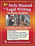 img - for A+ Style Manual For Legal Writing in Plain English (Language Learning) book / textbook / text book