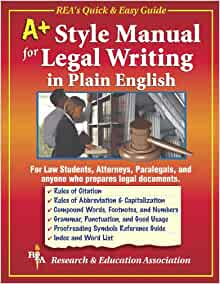 legal writing in plain english Legal writing in plain english (in 10 parts) download a pdf description (1 hour  long) $199 (secondary license: $99 each) register for the first time, garner.