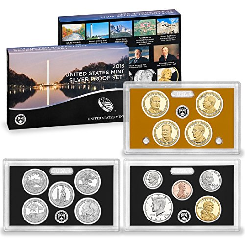 2013 United States 14-coin Silver Proof Set - OGP box (2013 United States Mint Silver Proof Set)