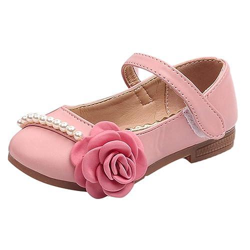 3a2cec23 Zapatos para Niñas Otoño Invierno 2018 Moda PAOLIAN Calzado Bailarinas  Suela Blanda Antideslizante Zapatos de Vestir