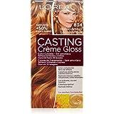 L'Oréal Casting Crème Gloss - 834 Rubio Ámbar - Color cuidado. Sin amoníaco - 1 pack