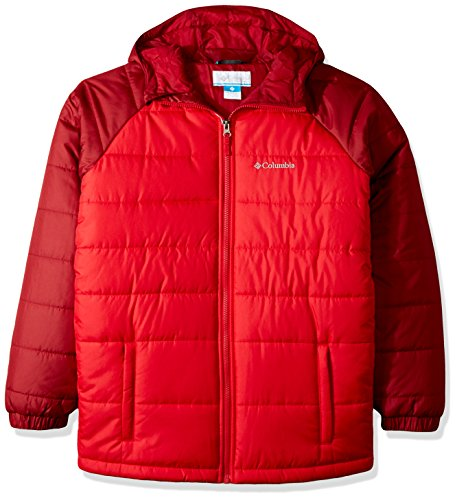 Columbia Little Boys' Tree Time Puffer Jacket, Mountain Red, Beet, - Boys Mountain Jacket Light