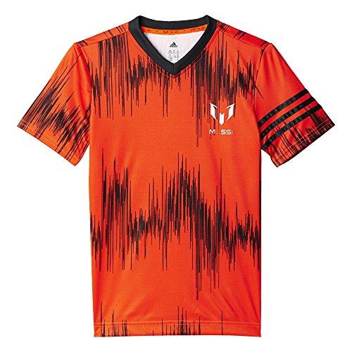 per taglia nero arancione Shirt rosso nero arancione nero M colore 164 ragazzo Aop T Tee Yb Adidas AwPqz6Yq